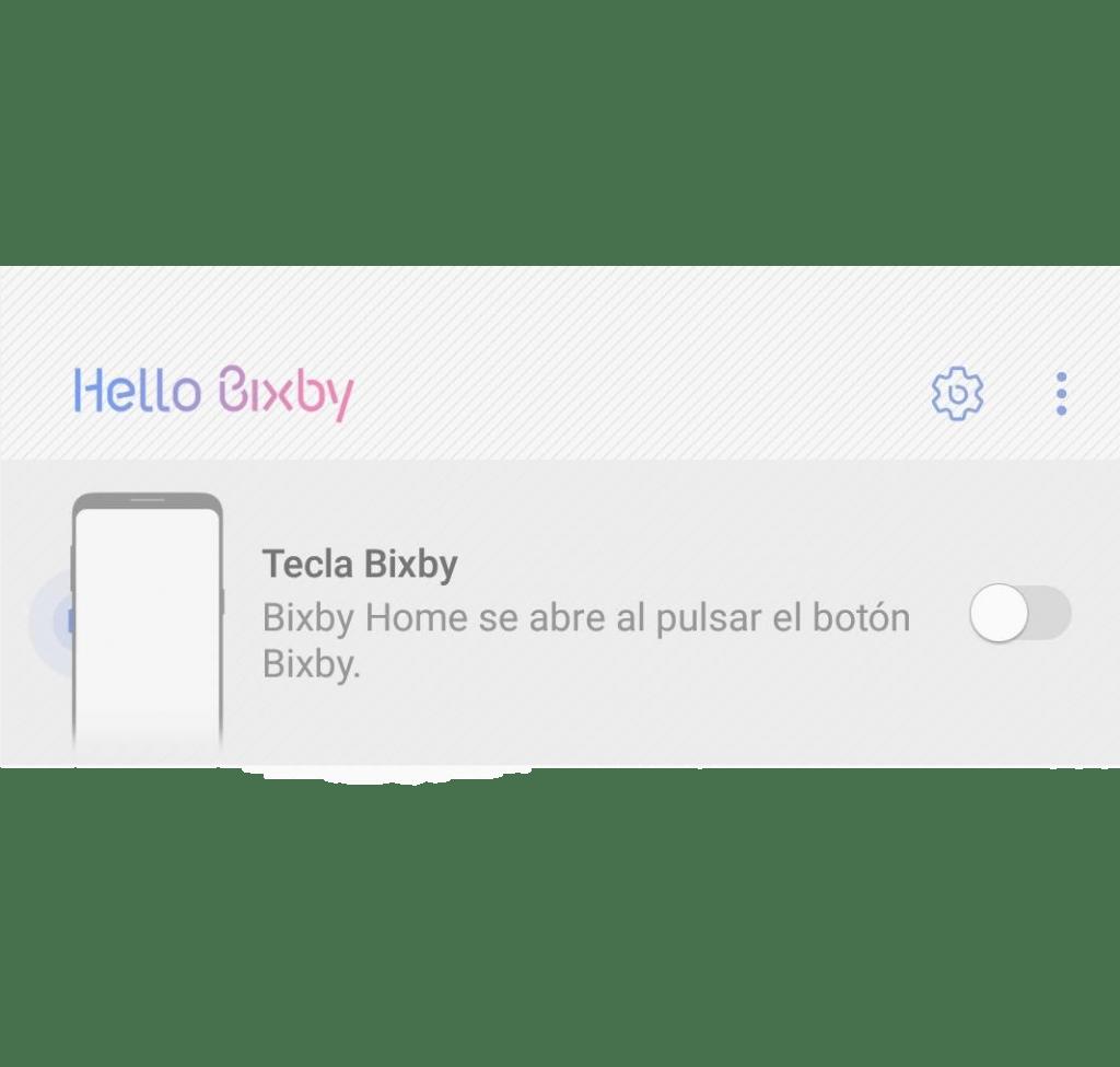 Desactivar Bixby